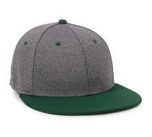 HTH25-Heathered Black/Dark Green-M/L