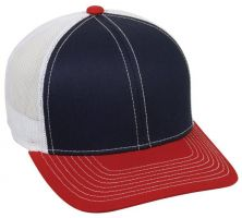 MBW-800-Navy/White/Red-One Size Fits Most