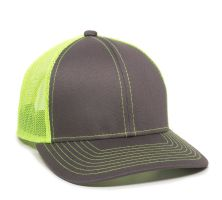 MBW-800SB-Charcoal/Neon Yellow-Adult