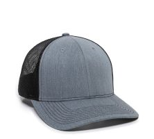 OC771-Heathered Grey/Black-One Size Fits Most