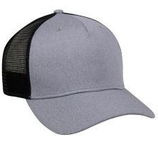 RGR-100M-Heathered Grey/ Black-Adult