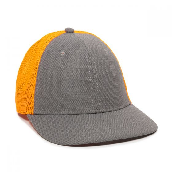 CAGE150-Charcoal/Neon Orange-One Size Fits Most