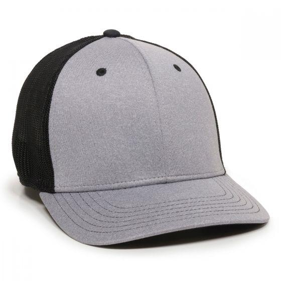 CT120M-Heathered Grey/Black-L/XL