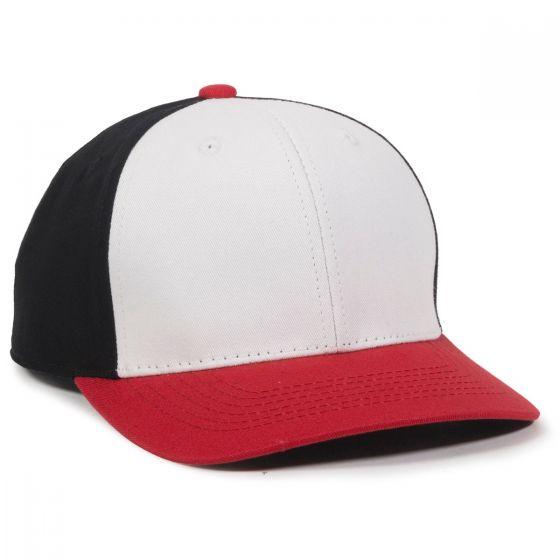 CTN50-White/Black/Red-Youth