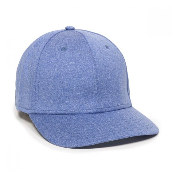 HTR-100-Heathered Blue-Adult