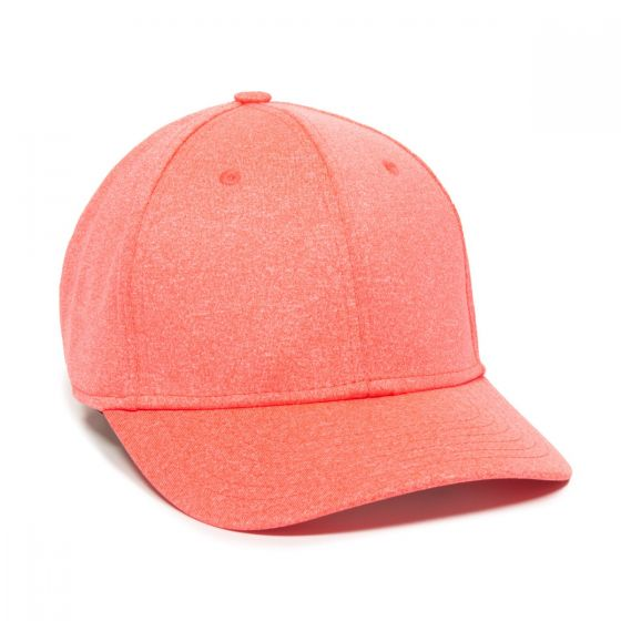 HTR-100-Heathered Coral-Adult