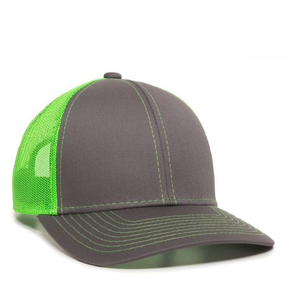 MBW-800-Charcoal/Neon Green-One Size Fits Most