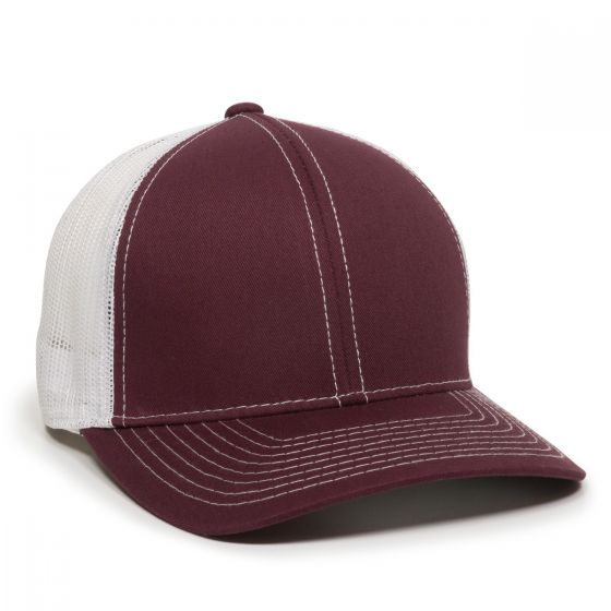 MBW-800SB-Maroon/White-Adult