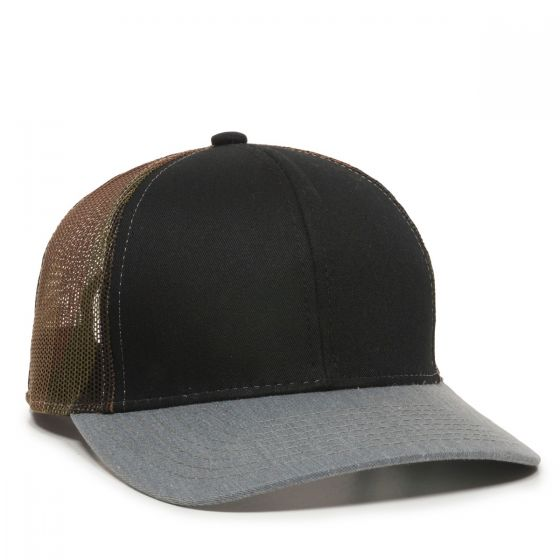 MBW-800SB-Black/Generic Camo/Heathered Grey-Adult