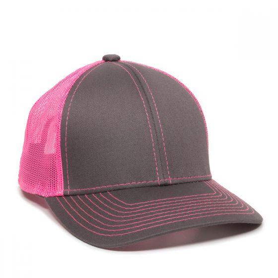 MBW-800SB-Charcoal/Neon Pink-Adult