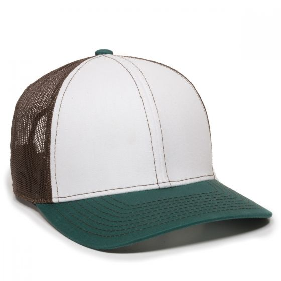 MBW-800SB-White/Brown/Dark Aqua-Adult