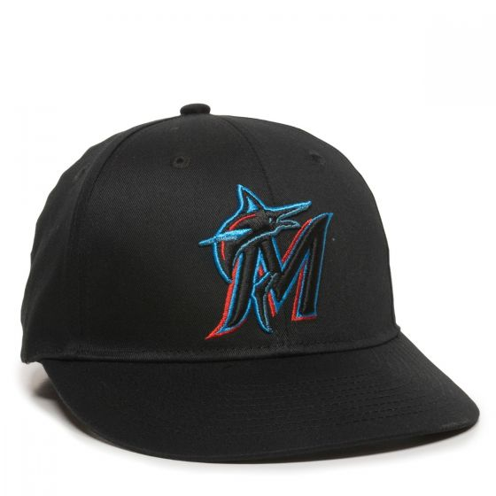MLB-300-MIAMI MARLINS Black 1MIH-HOME & ROAD-Adult