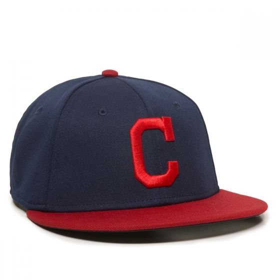 MLB-595-CLEVELAND INDIANS Navy/Red 1CLH-HOME-M/L