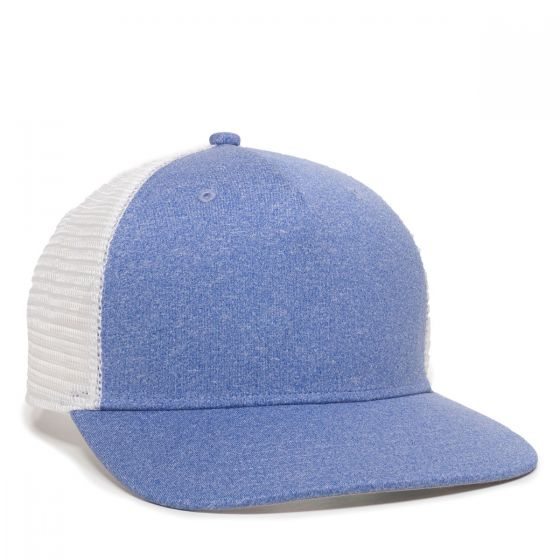 RGR-100M-Heathered Blue/White-One Size Fits Most