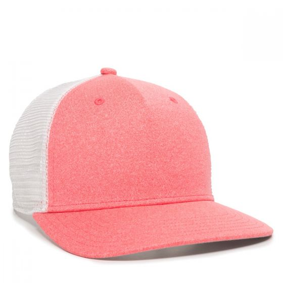 RGR-100M-Heathered Coral/White-One Size Fits Most
