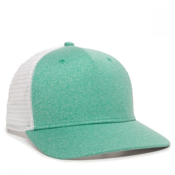 RGR-100M-Heathered Seafoam/White-One Size Fits Most