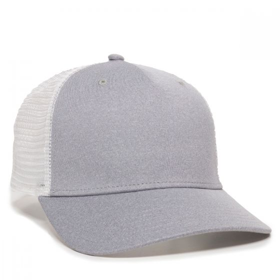 RGR-100M-Heathered Grey/White-One Size Fits Most