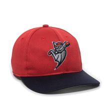MIN-350-Louisville Bats™ Red/Navy 2LRH-Adult