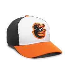 MLB-350-Baltimore Orioles™ White/Black/Orange 1BAH-HOME-Adult