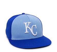 MLB-400-KC Royals - 1KCC Colorblock-Adult
