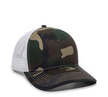 OC771-Generic Camo/White-One Size Fits Most