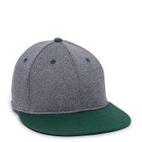 HTH25-Heathered Black/Dark Green-L/XL