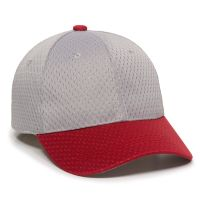 JM-123-Light Grey/Red-Adult