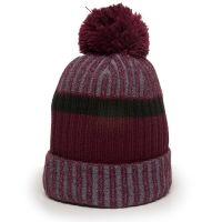 KNF-200-Maroon/Black/Grey-One Size Fits Most