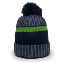 KNF-200-Navy/Bright Green/Grey-One Size Fits Most