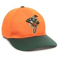 MIN-350-Greensboro Grasshoppers™ Orange/Dark Green 2GGH-Adult