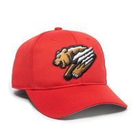 MIN-350-Fresno-Grizzlies-Red-2FG-One Size Fits Most