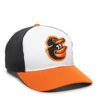 MLB-350-Baltimore Orioles™ White/Black/Orange 1BAH-HOME-Adult