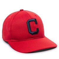 MLB-350-Cleveland Indians™ Red 1CLAH-ALT HOME-Adult