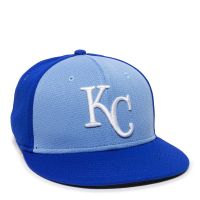 MLB-400-KC Royals - 1KCC Colorblock-Adult