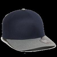REEVO-Navy/Heathered Grey-L/XL