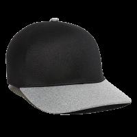 REEVO-Black/Heathered Grey-L/XL