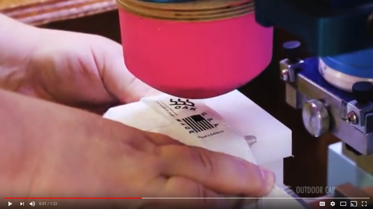 Watch Pad Printing Video