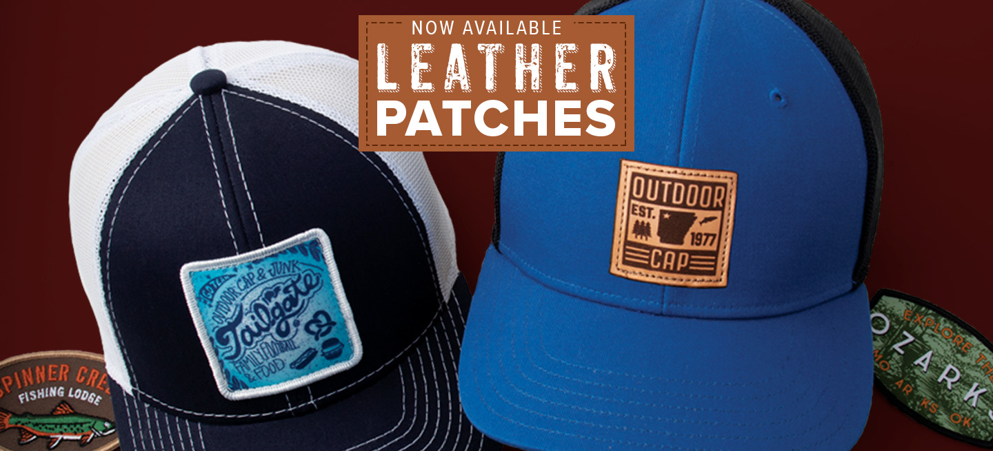 Domestically Produced Leather Patches, Now Available