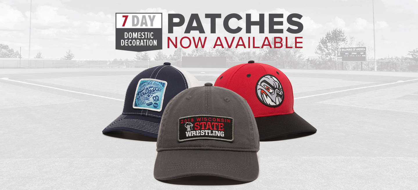 Domestic Produced Patch Caps
