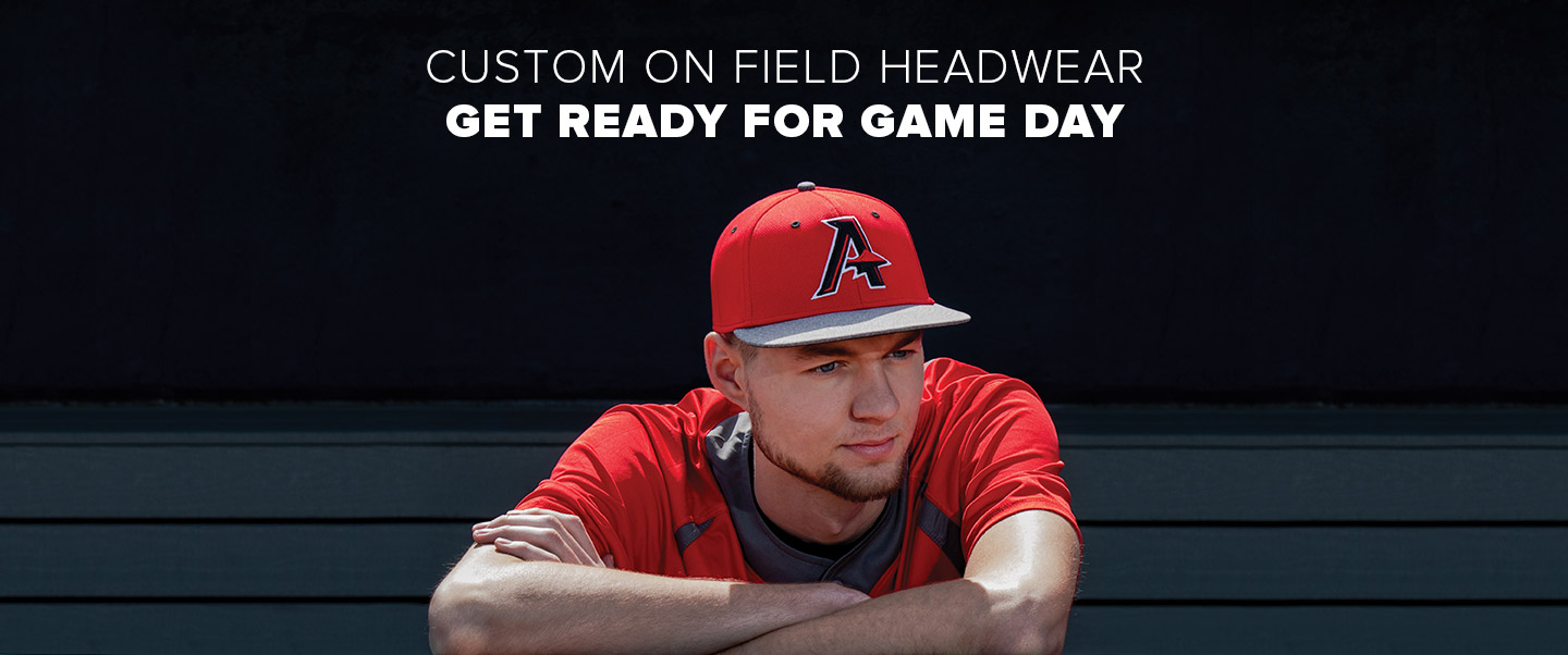 Get Ready for Game Day with On Field Custom Caps