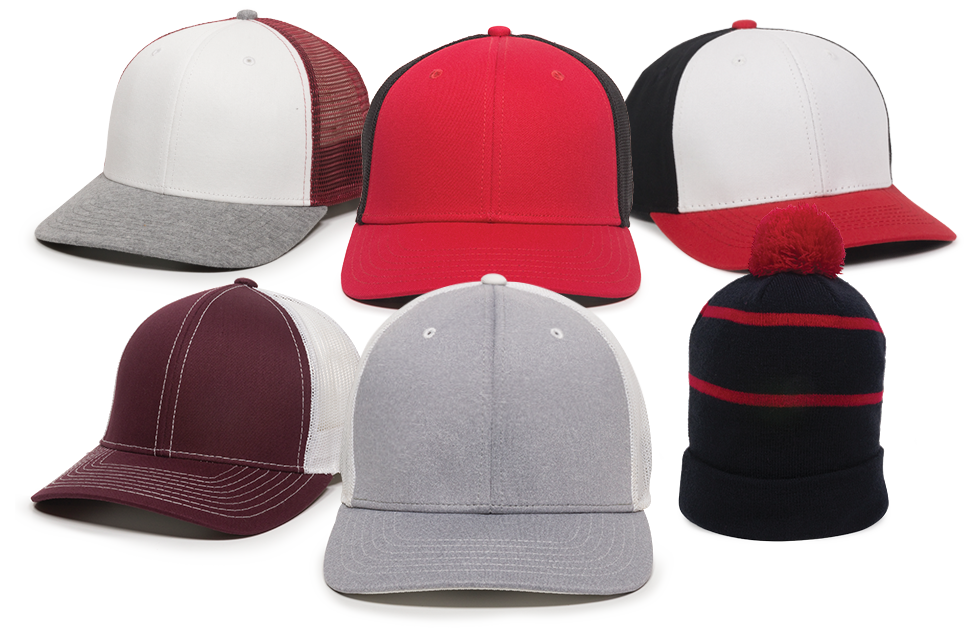 Start with any of our blank headwear.